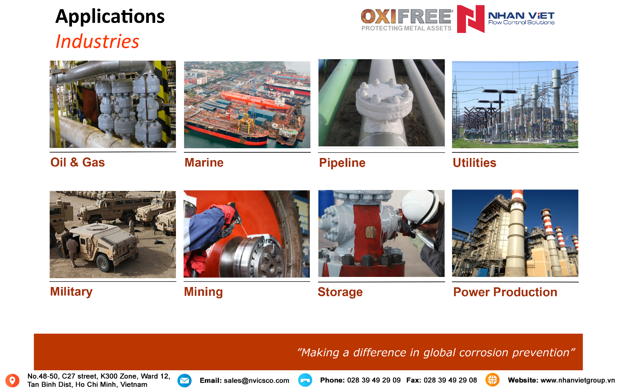 Oxifree-Nhan-Viet-Applications