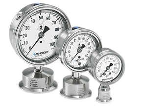 Sanitary-Gauges