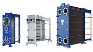 Gasketed plate-and-frame heat exchangers