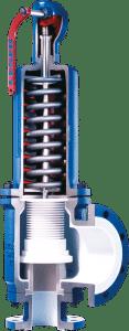 LESER-Critical Service-PTFE valve-Safety valve-Sicherheitsventil