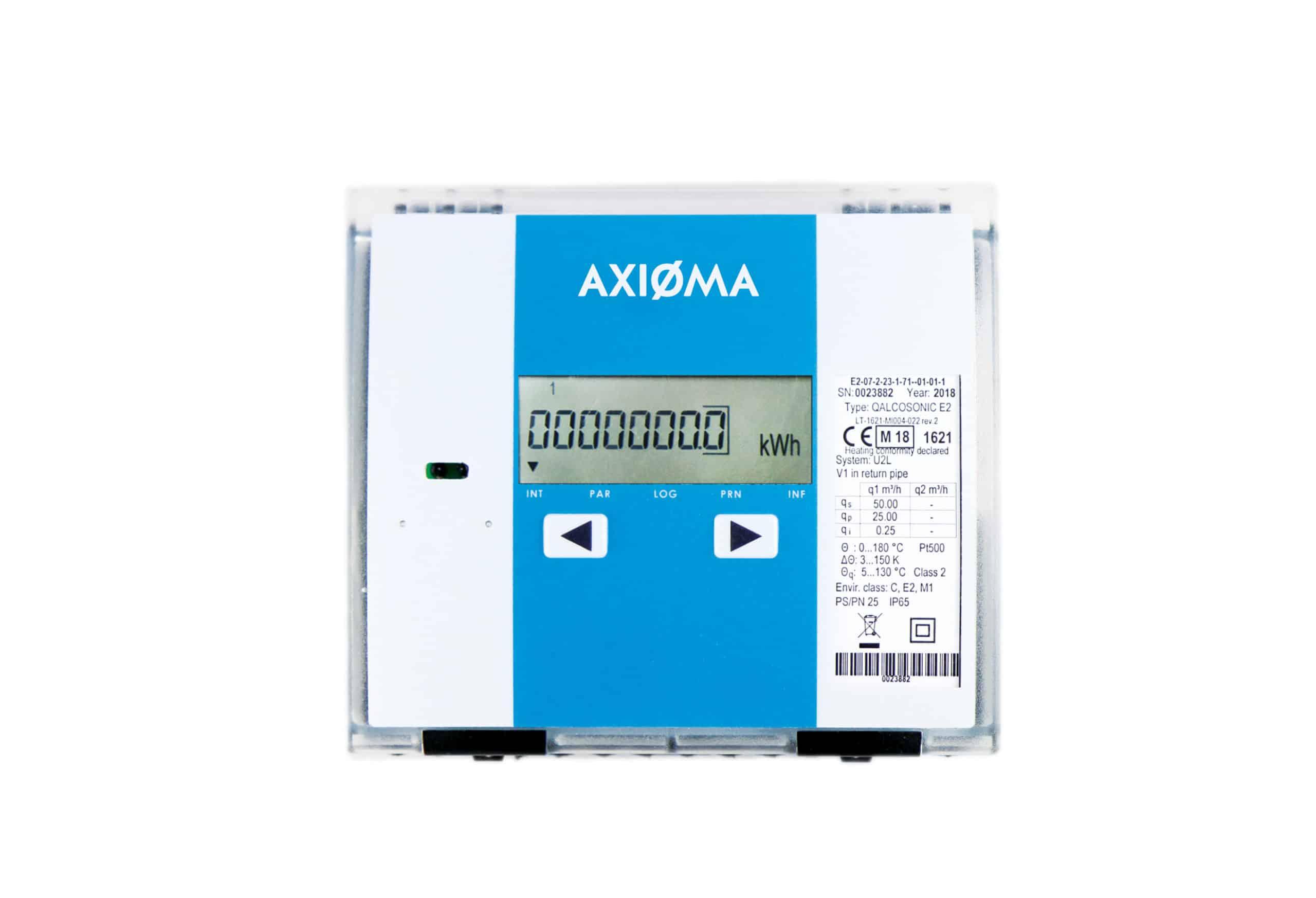 QALCOSONIC E2 - Ultrasonic heat and water quantity counter
