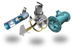 Propeller Flow Meters