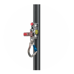 Fall protection system side