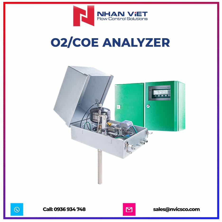O2 COe analyzer