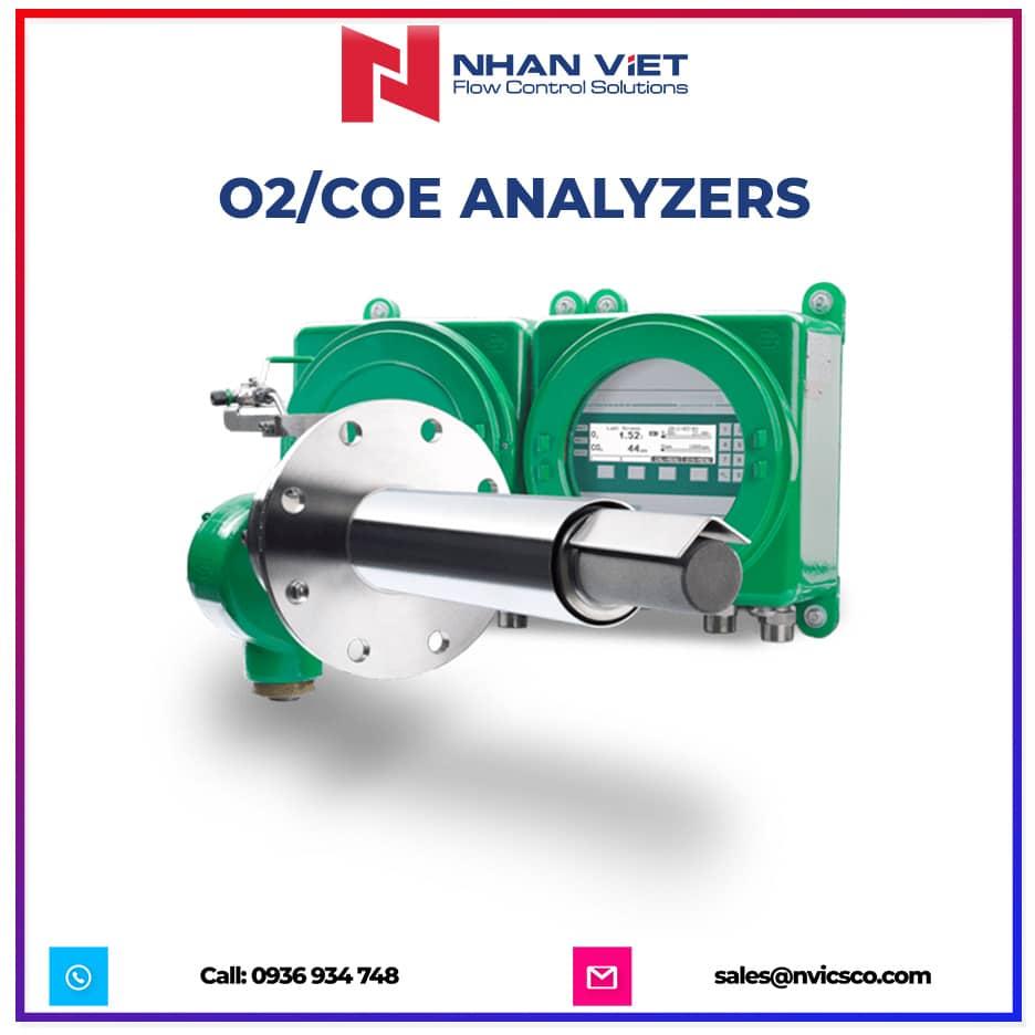 O2 COe analyzers