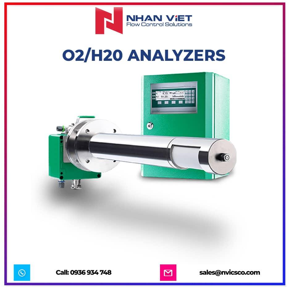 O2 H20 analyzers