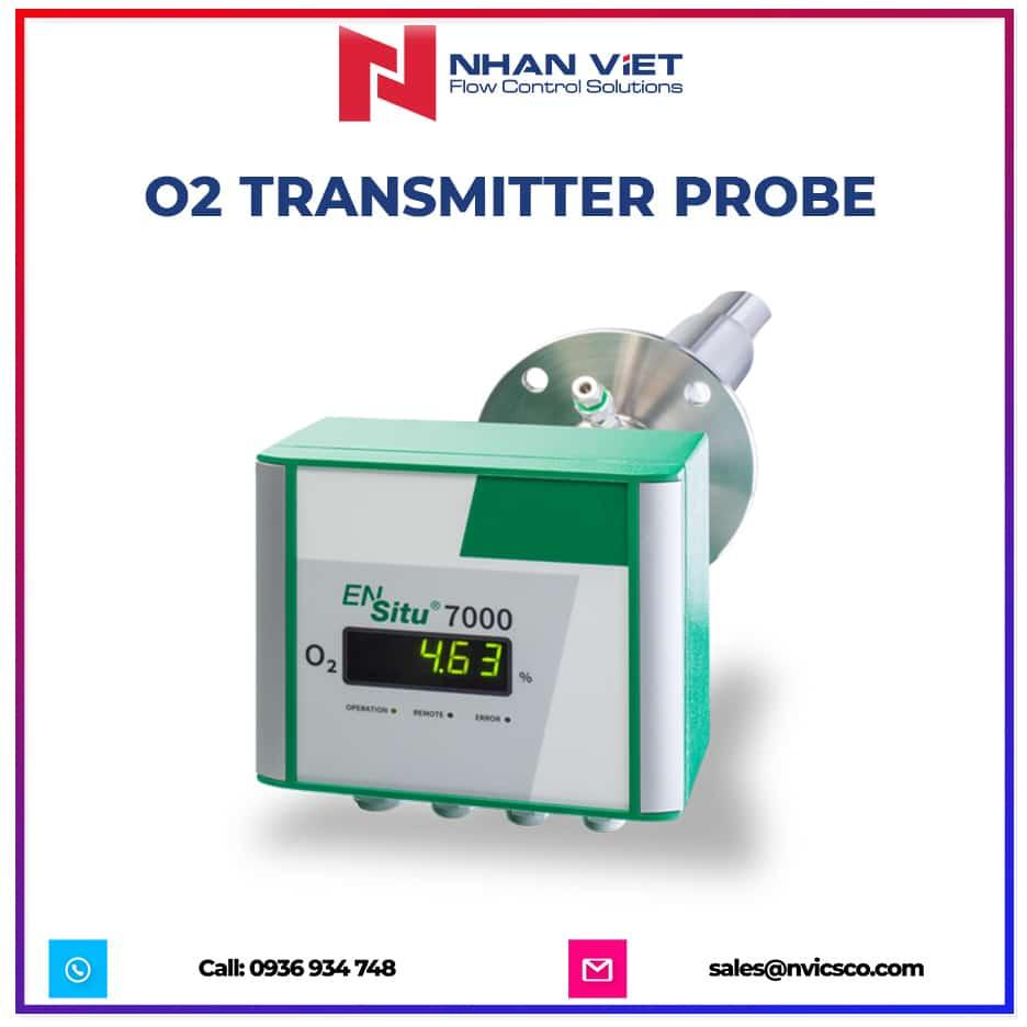 O2 transmitter probe