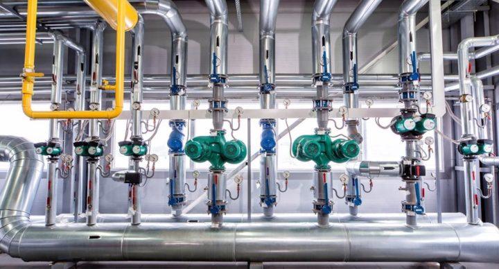 Gas analyzer process